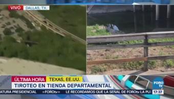 Reportan Tiroteo Tienda Departamental Texas