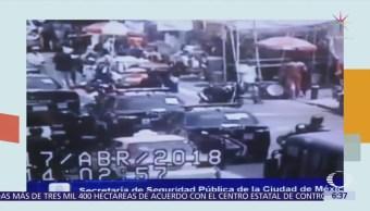 Rescatan a hombre secuestrado en mercado de la colonia Morelos, CDMX