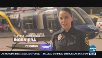 Retratos de México: El trabajo de una ingeniero en Aeronáutica