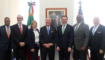 SRE y alcalde de Tampa coinciden en importancia y beneficios del TLCAN