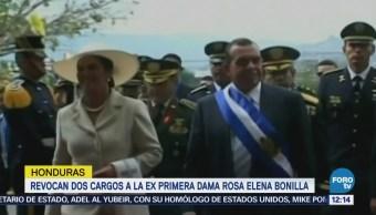 Revocan Dos Cargos Exprimera Dama Honduras Rosa Elena Bonilla