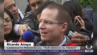 Ricardo Anaya arremete contra AMLO por negarse a un debate entre dos
