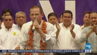 Ricardo Anaya Hace Llamado Campañas Civilidad Álamo Veracruz