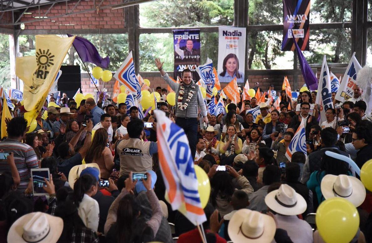 Ricardo Anaya promete elevar el salario mínimo a 100 pesos