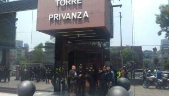 Vinculan a proceso a tres sujetos por robar empresa en Torre Privanza