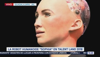 Robot 'Sofia' participa en el 'Talent Land 2018'
