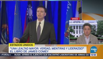 Sale a la venta el libro de James Comey, exdirector del FBI