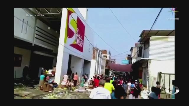 Saquean comercios que se habían resistido a la extorción en Arcelia Guerrero