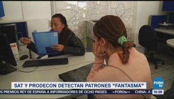 Sat y Prodecon detectan 'patrones fantasma'