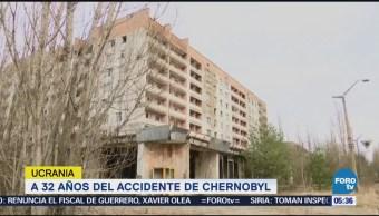 Se cumplen 32 años del accidente nuclear de Chernobyl