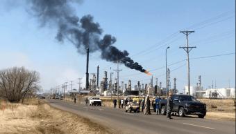 Se registra explosión en refinería de Wisconsin
