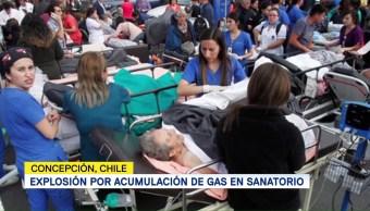 Registra Explosión Sanatorio Chile Acumulación Gas