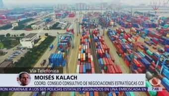Se trabaja a marchas forzadas sobre el TLCAN, dice Kalach