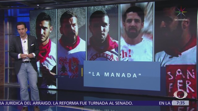 Sentencian a miembros de La Manada en España