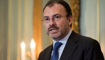 Videgaray: Sería inaceptable condicionar renegociación TLCAN