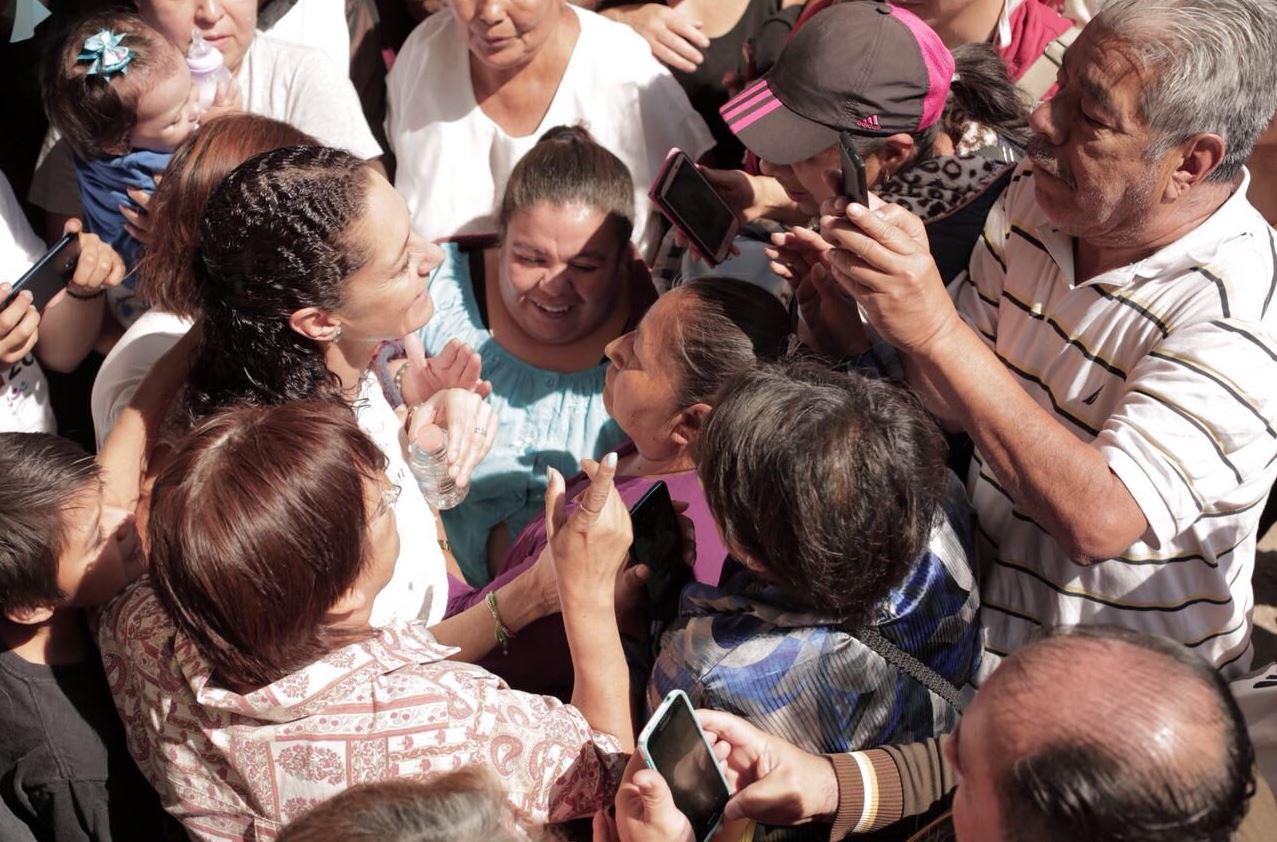 Claudia Sheinbaum pide a Amieva frenar violencia política en la CDMX