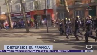 Siguen las manifestaciones en Francia contra las reformas de Emmanuel Macron