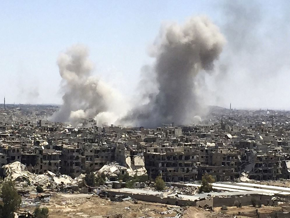 Siria: Retirada de primer grupo rebelde tras acuerdo ruso-turco