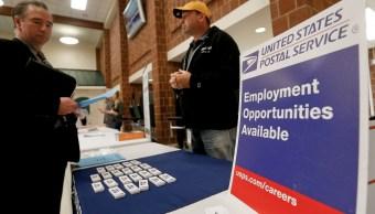 Solicitudes de subsidios por desempleo en EU caen