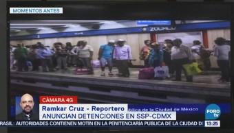 Ssp-Cdmx Anuncia Detenciones Metro Secretaría De Seguridad Pública De La Ciudad De México