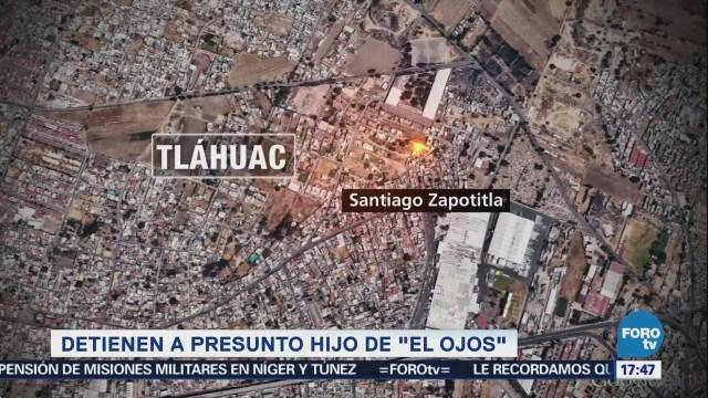 Ssp-Cdmx Detiene Hijo El Ojos Delegación Tláhuac