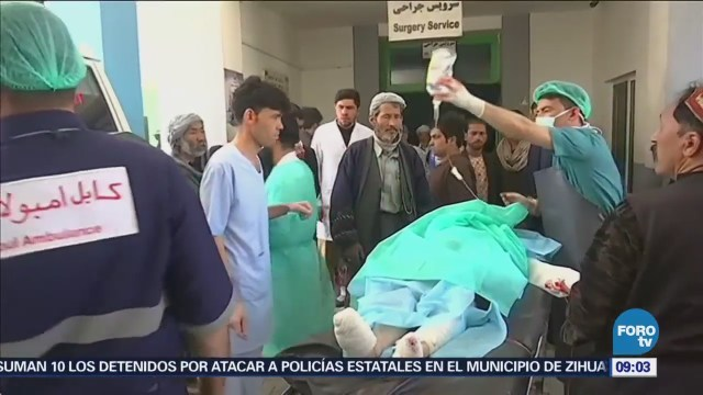 Suman Más 50 Muertos Atentado Afganistán