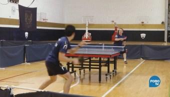 Tenis Mesa Unam Actividades Deportivas Estudiantes