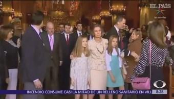 Tensa escena entre reina Letizia y doña Sofía