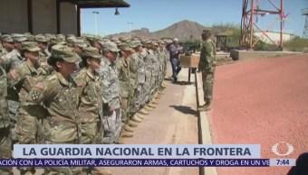 Texas, Arizona y Nuevo Mexico desplegarán mil 600 militares en frontera con México