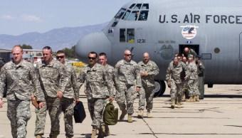 Soldados de la Guardia Nacional de Estados Unidos vigilarán la frontera con México