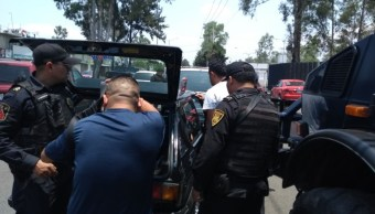 Aseguran a 9 personas, armas y drogas durante operativo en Tláhuac