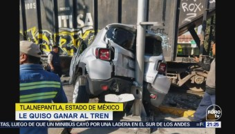 Tren Embiste Camioneta Intentó Ganarle Paso