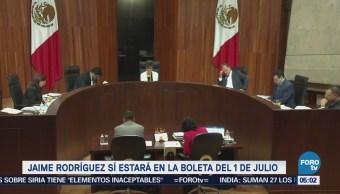 Tribunal revoca acuerdo del INE que negaba candidatura a 'El Bronco'