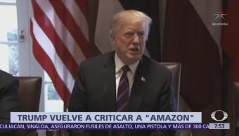 Trump arremete contra Amazon y se revela confrontación con Jeff Bezos