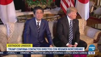 Trump Confirma Tenido Contactos Alto Nivel Norcorea
