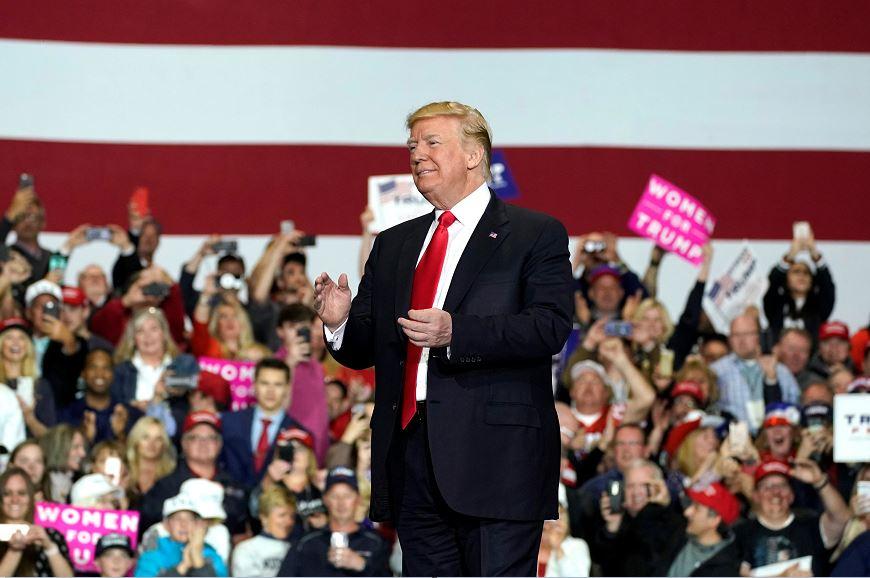 Trump amenaza con cerrar la frontera con México si no hay seguridad
