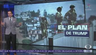 Trump ordena despliegue de la Guardia Nacional en la frontera con México