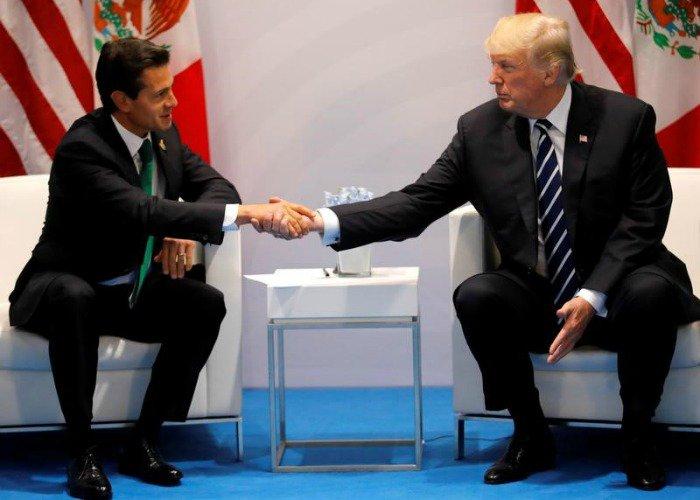 Dice Peña a Trump: 'el fútbol nos une'