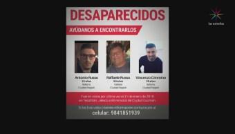 Desaparición Tres Italianos Jalisco Crimen Parlamento Europeo