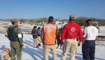 Tormenta y granizo dejan afectaciones en municipio de Venado, SLP