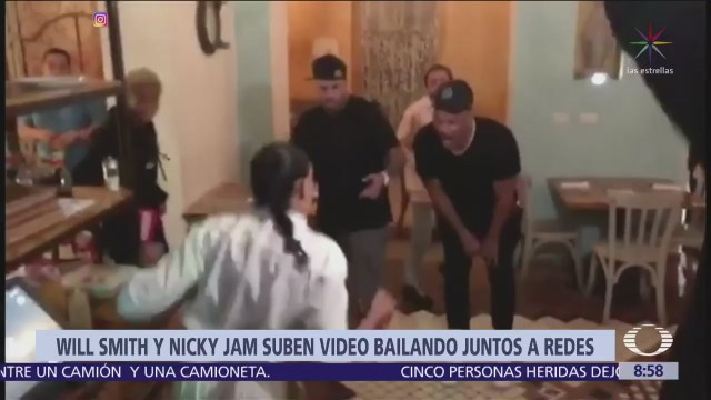 Will Smith baila con Nicky Jam