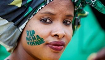 Familiares de Winnie Mandela piden no olvidar su sacrificio por la libertad