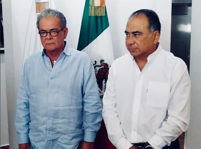 xavier olea manifiesta renuncia al gobernador hextor astudillo