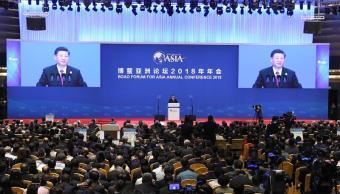 Xi Jinping renueva compromiso con economía abierta