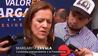 Zavala critica AMLO por defender reunión de obispo con crimen organizado