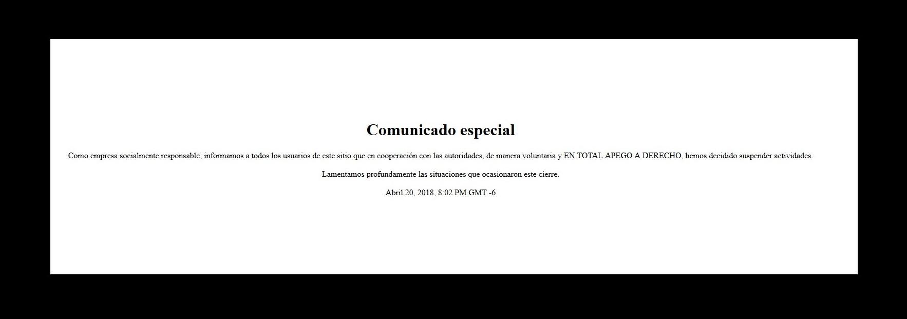 'Zona Divas' suspende actividades tras detención de administradora