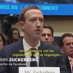 Mark Zuckerberg Fundador Facebook Regulación Redes Sociales