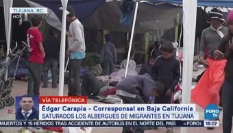 Albergues Migrantes Tijuana Están Saturados