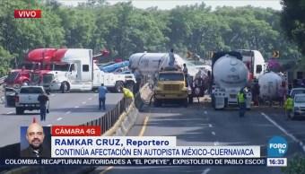 Circulación México-Cuernavaca, Cerrada Más 13 Horas