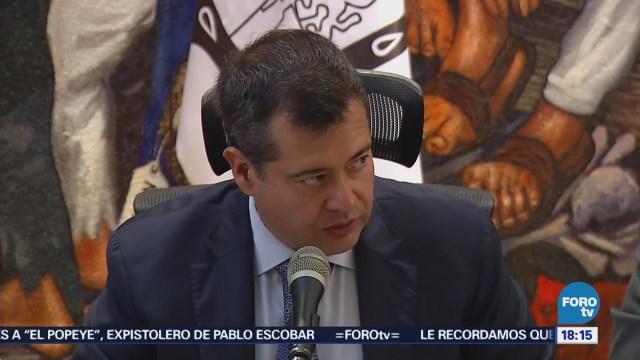 Ayuda Reconstrucción No Tiene Condicionamiento José Ramón Amieva, jefe de Gobierno de la CDMX,